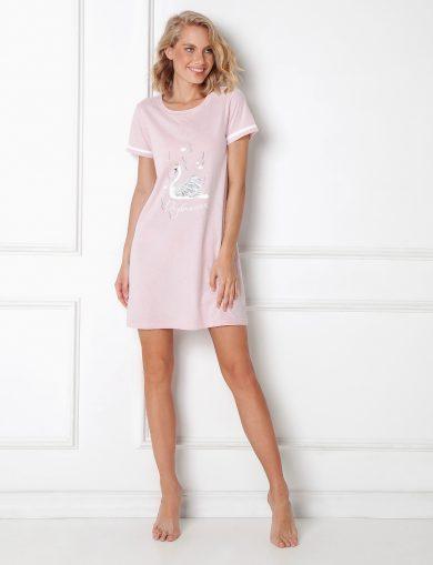 Dámská noční košile Aruelle Sharon Nightdress kr/r XS-2XL