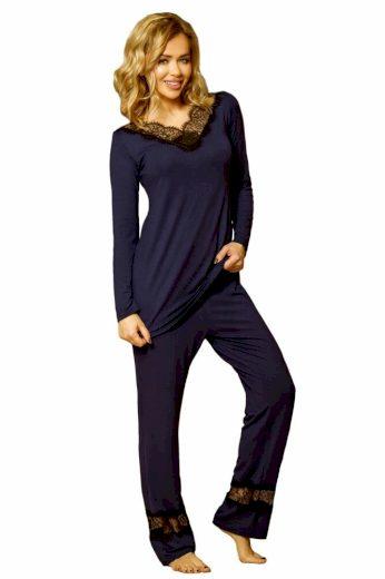Pyžamový komplet Kapas tmavě modrý