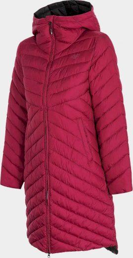 Dámský kabát 4F KUDP214 Burgund