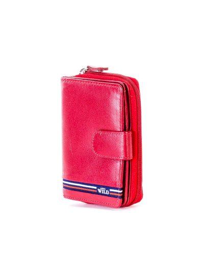 Dámská kožená peněženka s kapsou na zip N503 - FPrice