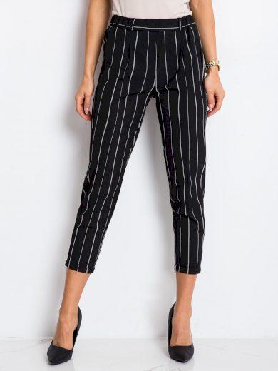 Dámské pruhované kalhoty 1004 - RUE PARIS