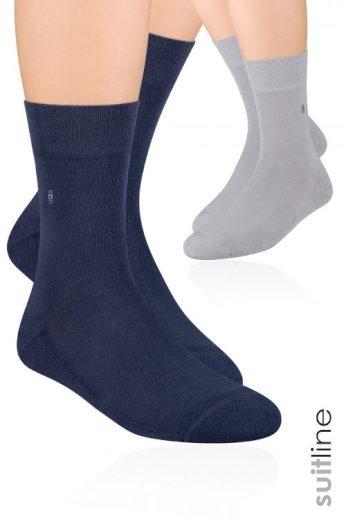 Pánské ponožky Steven polofroté art.003