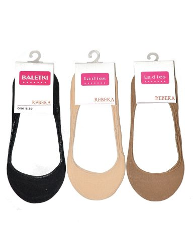 Dámské ponožky baleríny Rebeka bavlna 2511