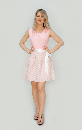 Dámské rozšířené šaty 3054/1 - Made in Italy
