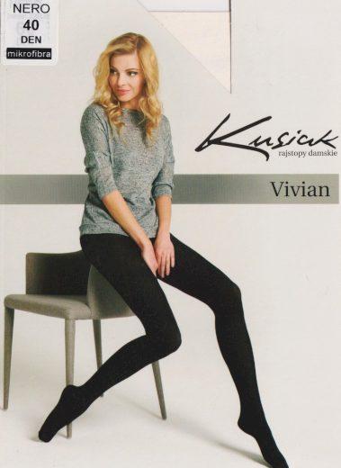 Dámské punčochové kalhoty MIKRO 40 den VIVIAN
