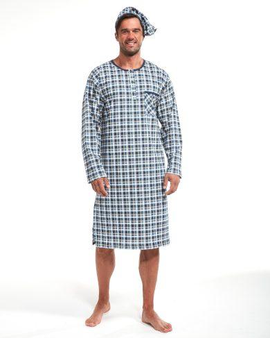 Pánská noční košile Cornette 110/636704 dł/r S-2XL