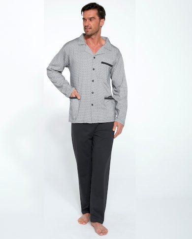 Pánské pyžamo Cornette 114/46 dl/r 3XL-5XL