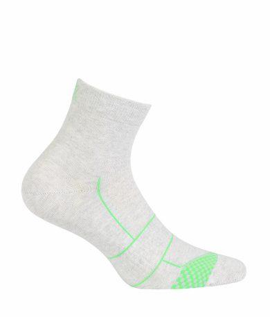 Pánské vzorované kotníkové ponožky
