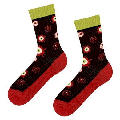 Pánské i dámské vzorované ponožky Good Stuff oči - SOXO