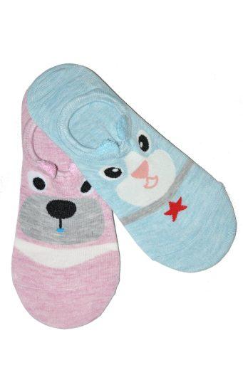 Dámské ponožky balerínky WiK Midini 0144 Collar A'2