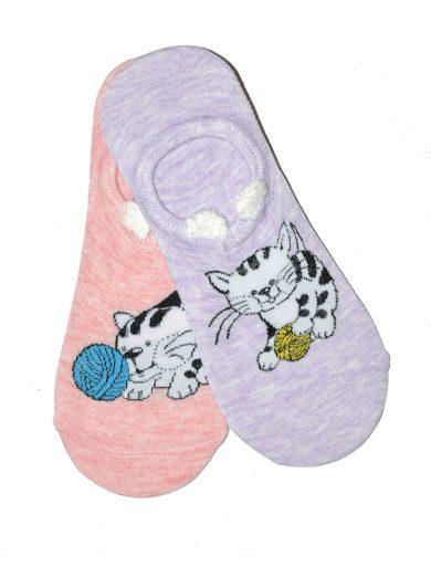 Dámské nízké ponožky WiK Midini 81177 Wool Ball A'2