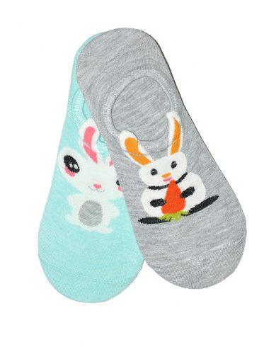 Dámské nízké ponožky WiK Midini 81174 Funny Bunny A'2