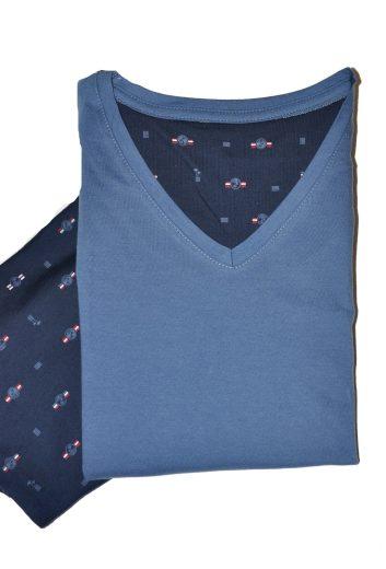 Pánské pyžamo Cornette 326/112 John kr/r S-2XL