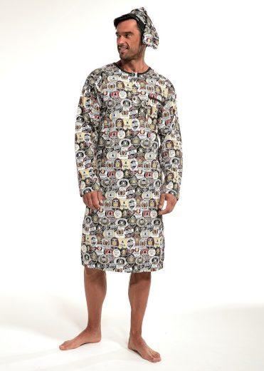 Pánská noční košile Cornette 109/643902 kr/r 3XL