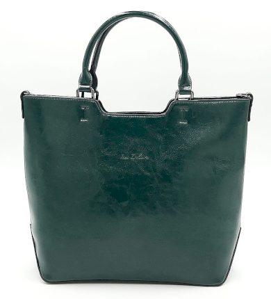 Zelená klasická kabelka Ines Delaure