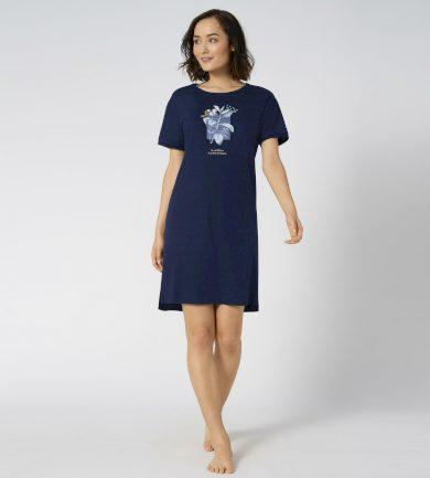 Noční košile Nightdresses NDK 10 X tmavě modrá - Triumph