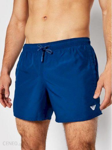 Pánské plavkové šortky 211752 1P438 03083 tmavě modrá - Giorgio Armani
