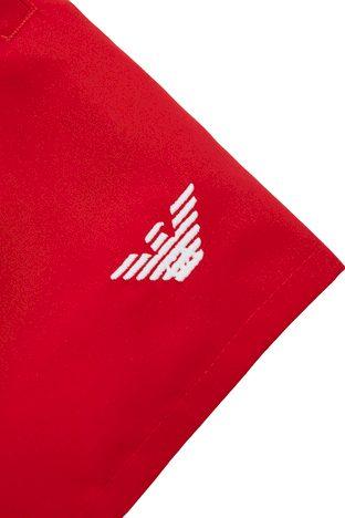 Pánské plavkové šortky 211752 1P438 06574 červená - Giorgio Armani