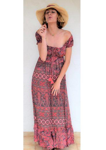 Dámské letní šaty LS130 - Pink Planet