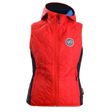 VE-4116PRO dámská zateplená vesta Polartec® Alpha PEYTON red