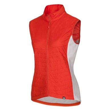 NORTHFINDER dámská vesta do každého počasí s fleece MALIAH orange