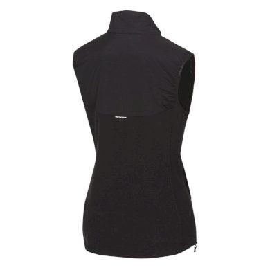 NORTHFINDER dámská vesta do každého počasí s fleece MALIAH black