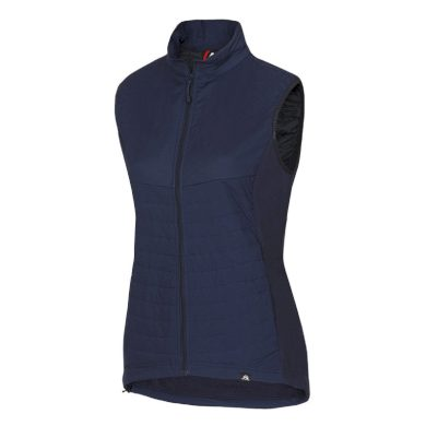 NORTHFINDER dámská vesta do každého počasí s fleece MALIAH navy