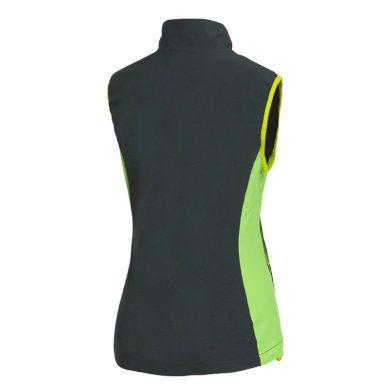 VE-4261OR dámská vesta lehká větru-odolná HANA green