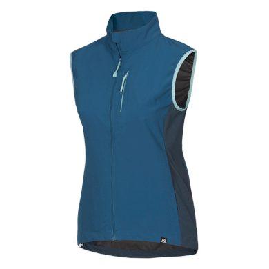 VE-4261OR dámská vesta lehká větru-odolná HANA blue