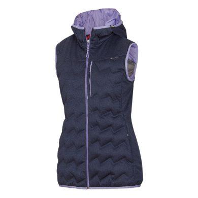 VE-42582SP dámská melanžové vesta SIMILA bluemelange
