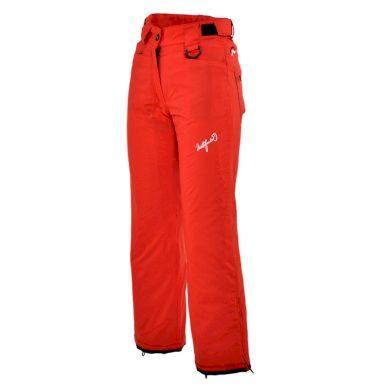 NO-4690TEE dívčí kalhoty ELIN brightred