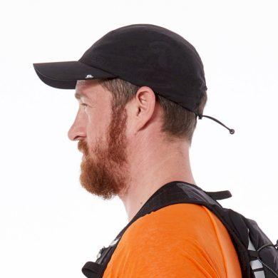 CA-1006RG pánská běžecká čepice MARTIN blackblack