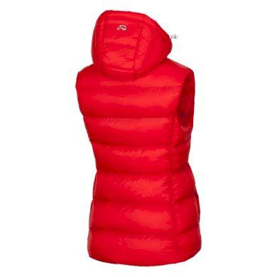 VE-4280OR dámská vesta lehká zateplena prošívaná BEKONA red