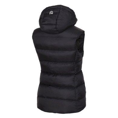 VE-4280OR dámská vesta lehká zateplena prošívaná BEKONA black