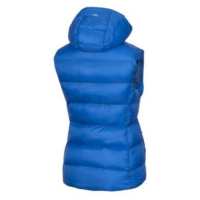 VE-4280OR dámská vesta lehká zateplena prošívaná BEKONA blue