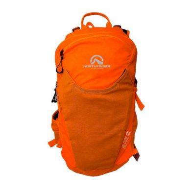 unisex batoh ski-turingový ultra lahký 18L orangeblack