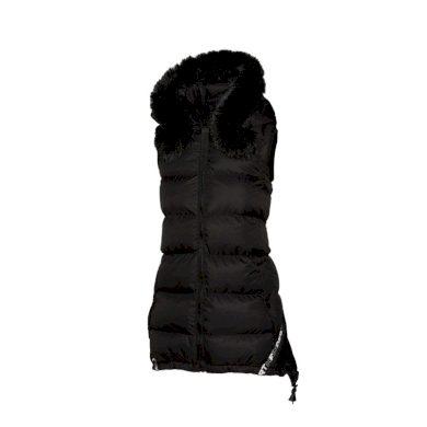 VE-4281SMU dámská zateplená sportovní vesta BLASTA blackblack