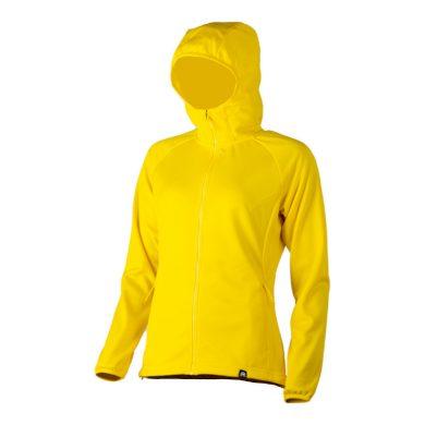 MI-4453OR dámské power-stretch mikina melange fleece 170g NORTHPIERA yellow
