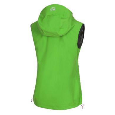VE-4390OR Dámská outdoorová vesta softshellová RIGTA green