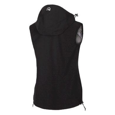 VE-4390OR Dámská outdoorová vesta softshellová RIGTA black