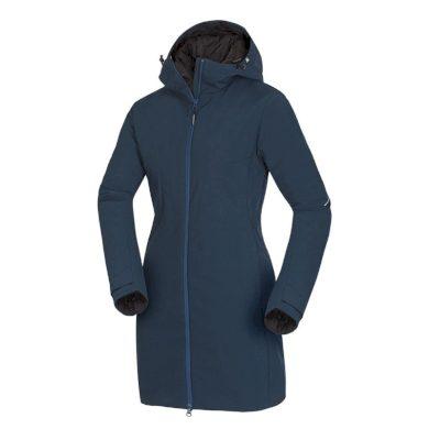 BU-46552OR Dámská zimní kabát softshellové EXTRA SIZE 3-layer AVICA blue