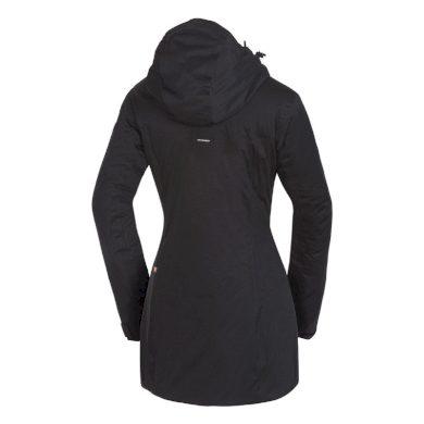 BU-46551OR dámsky kabát zimní zateplený ve stylu outdoor 2.5L ANOIASA blackblack