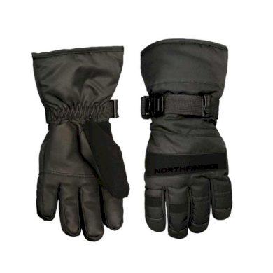 unisex rukavice lýžiarské zateplené blackblack