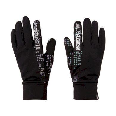 AS-1031OR unisex rukavice elastické reflexní DIHEN black