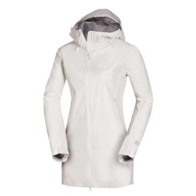 BU-4865OR Dámský outdoorový kabát softshellový BERILA white