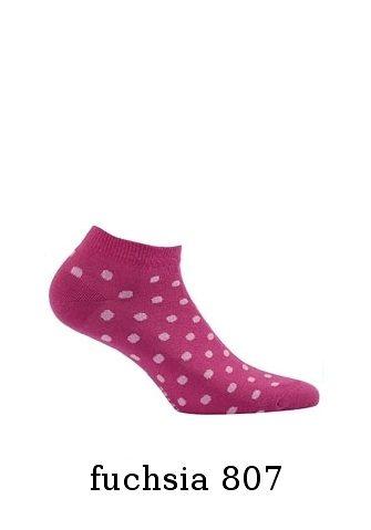 Dámské vzorované kotníkové ponožky Wola Perfect Woman W81.01P