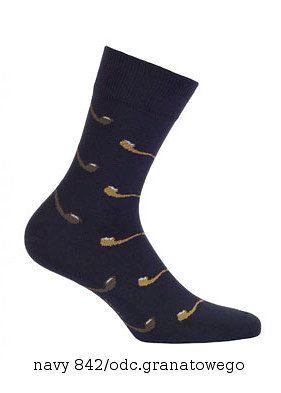 Pánské ponožky Wola Perfect Man vzorované W 94N03 Casual