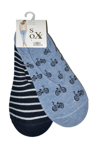 Ponožky baleríny WiK 39921 Cotton Sox A'2