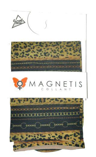Dámské vzorované ponožky lycra 20 den - Magnetis