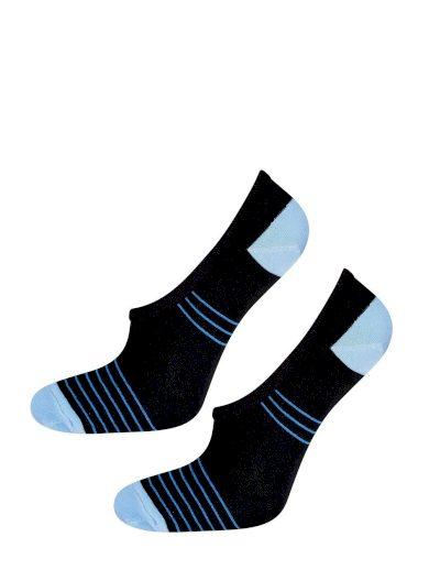 Dámské ponožky baleríny Soxo 42412 Silikon